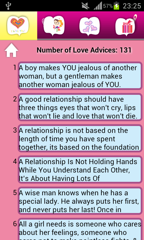 Love advice chat room
